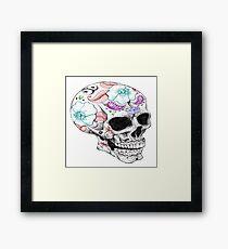 """""""Muertos"""" Framed Print"""
