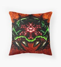 Angry Baby: V2 Throw Pillow