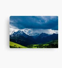 Green Storm Canvas Print
