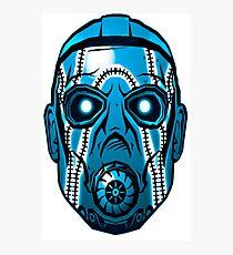 Psycho mask  Photographic Print