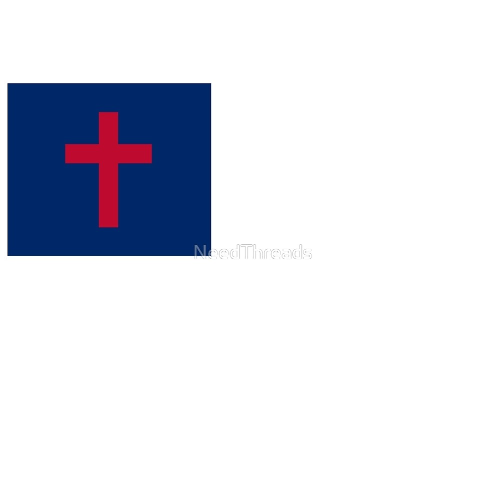 Christian Flag by NeedThreads