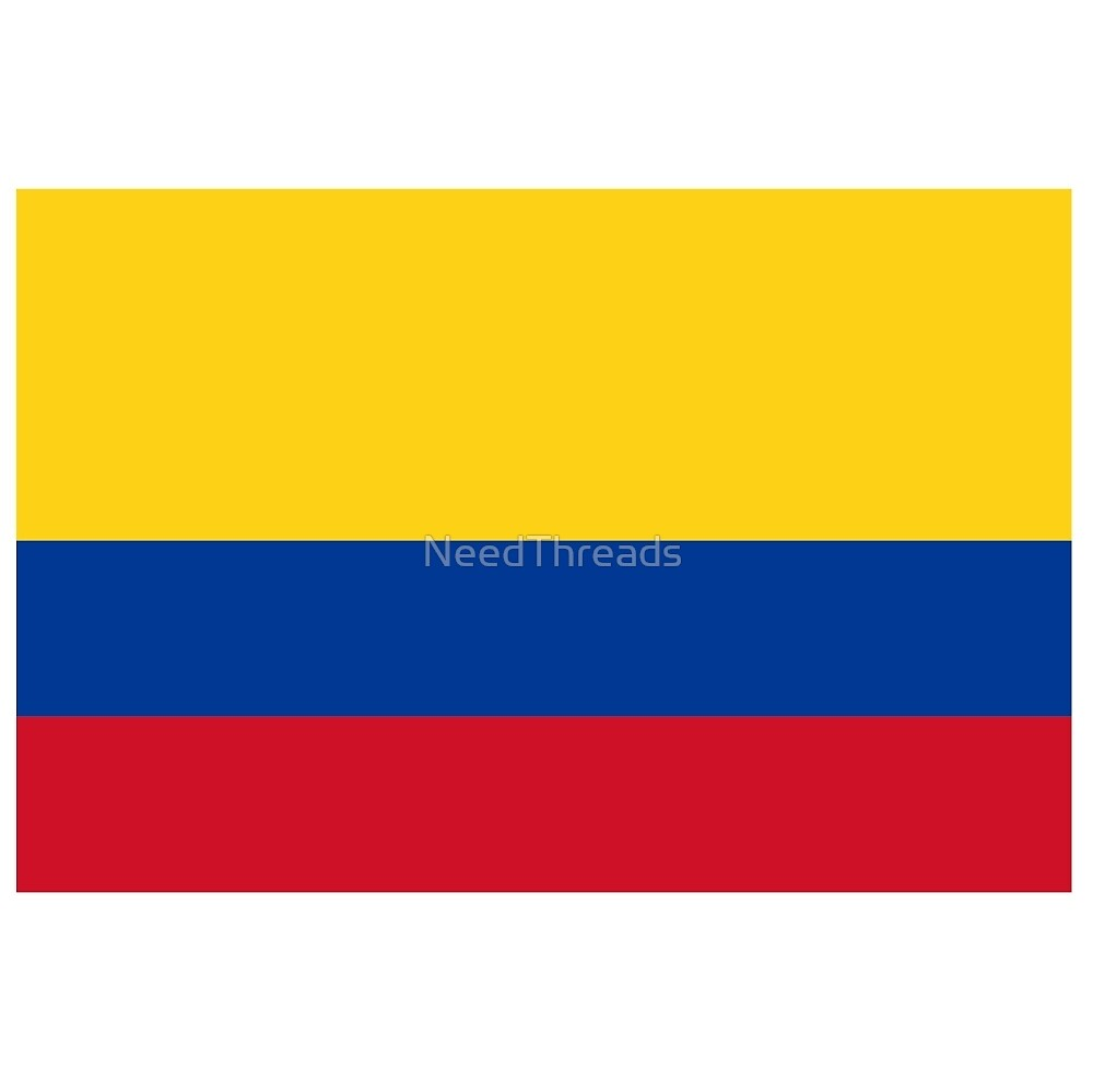 Colombia Flag by NeedThreads