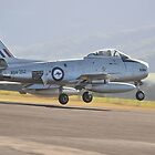 Sabre Landing, Albion Park Airshow, Australia 2014 by muz2142