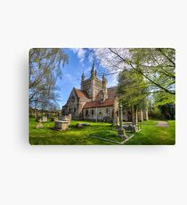 St Mildreds Whippingham Canvas Print