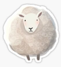 Ramsey the Sheep Sticker