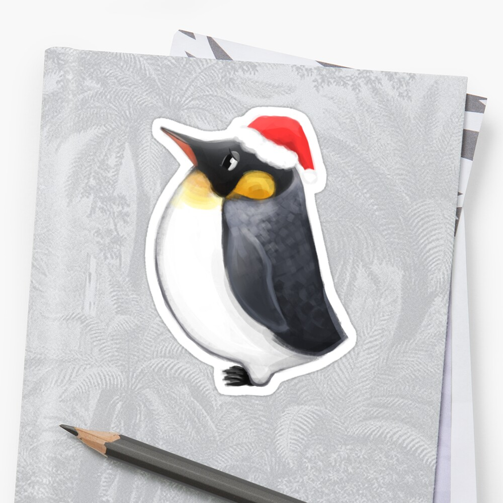 Louie the Christmas Penguin by crunchytiger