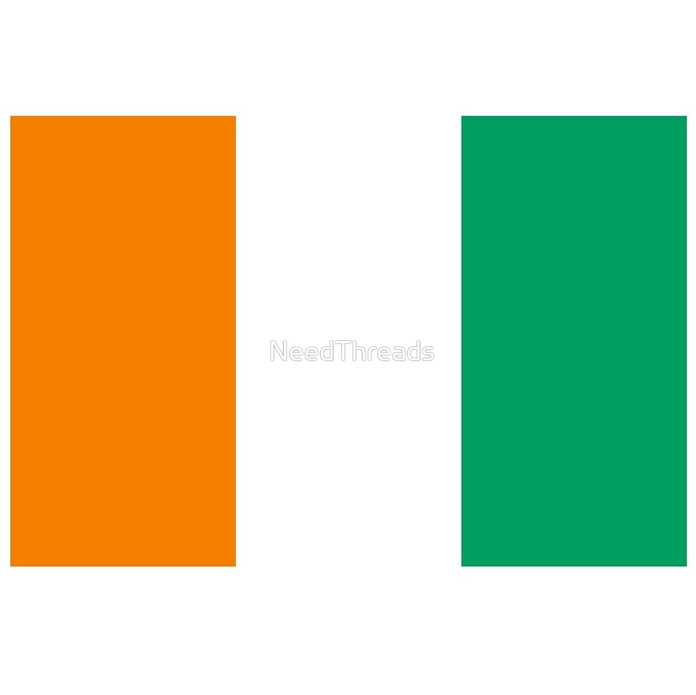 Cote D'Ivoire Flag by NeedThreads
