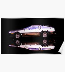 The Delorean Poster