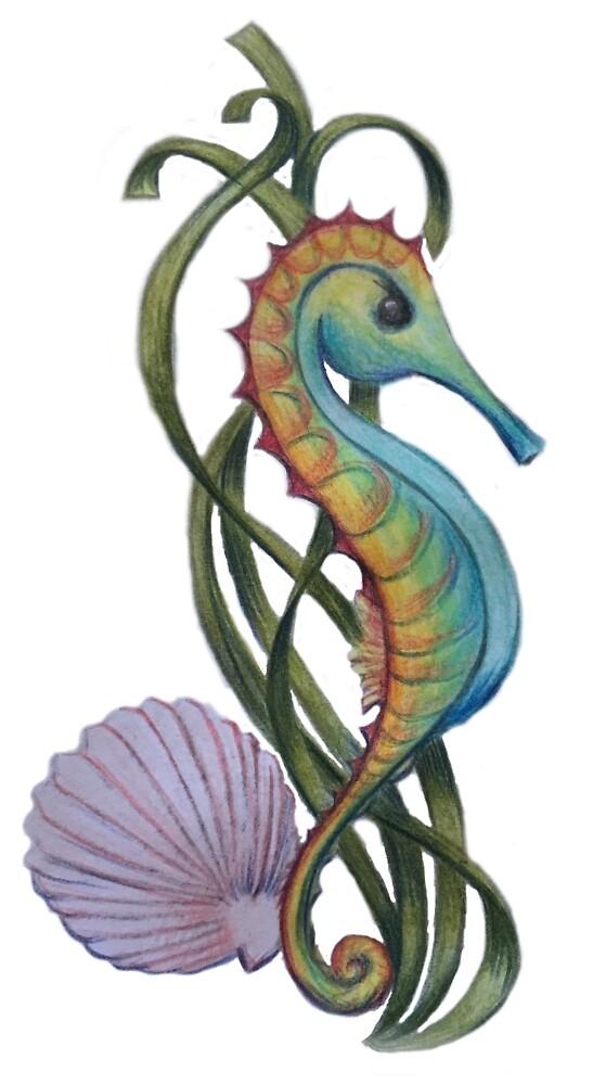 Seahorse scene by SherylGS