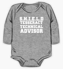 S.H.I.E.L.D Tesseract Technical Advisor One Piece - Long Sleeve