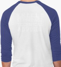 S.H.I.E.L.D Tesseract Technical Advisor Men's Baseball ¾ T-Shirt