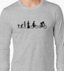 Bike Women's Evolution of Cycling Long Sleeve T-Shirt