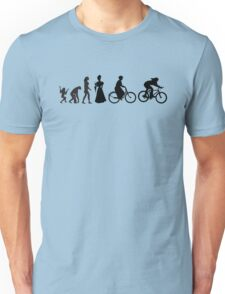 Bike Women's Evolution of Cycling Unisex T-Shirt