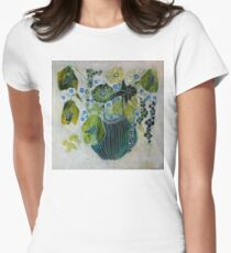 Green Bouquet Women's Fitted T-Shirt