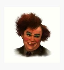 Steve brule (no background) Art Print