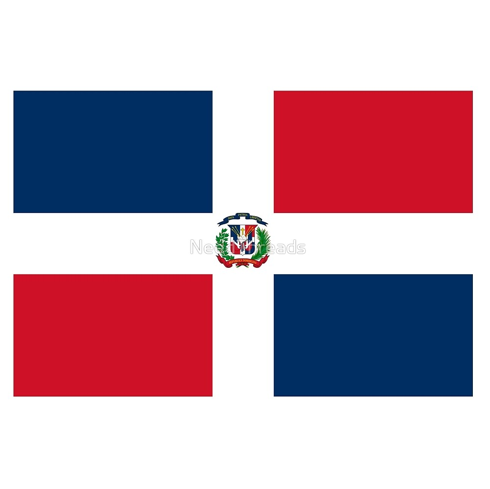 Dominican Republic Flag by NeedThreads