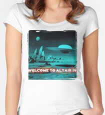 Welcome To Altair IV Women's Fitted Scoop T-Shirt