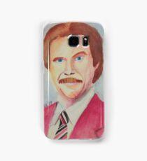 Ron Burgundy Samsung Galaxy Case/Skin