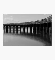 Iron Curve Photographic Print