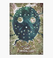Welcome To Camp Crystal Lake Photographic Print