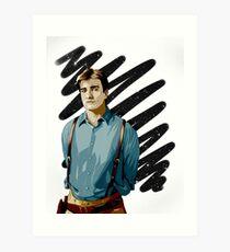 Malcolm Reynolds aka Mal aka… Nathan Fillion Art Print