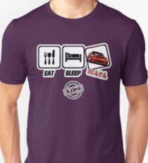 DLEDMV - Mangez le sommeil Miata T-shirt unisexe