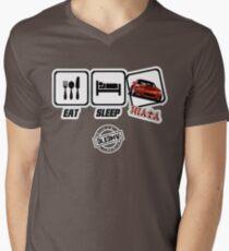 DLEDMV - Eat Sleep Miata Men's V-Neck T-Shirt