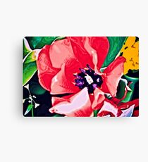 Red Love Canvas Print