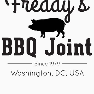 Freddy's BBQ Joint (black) by AndersonJames