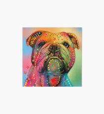bulldog  Art Board