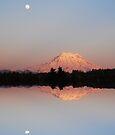Mt. Rainier Reflections by Tori Snow