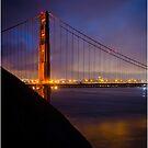 Golden Gate-San Francisco by Fidisoa Rasambainarivo