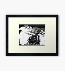 The Unmade Bed Framed Print
