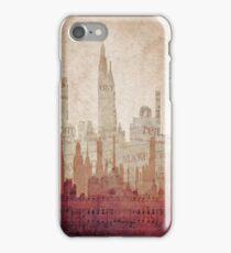Paper City iPhone Case/Skin