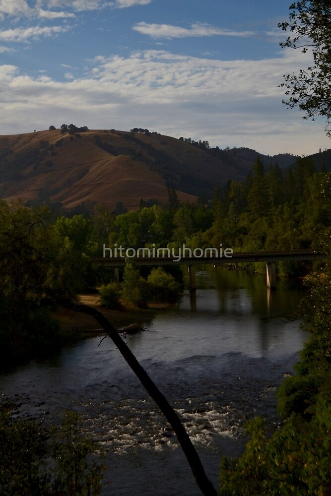 american river by hitomimyhomie