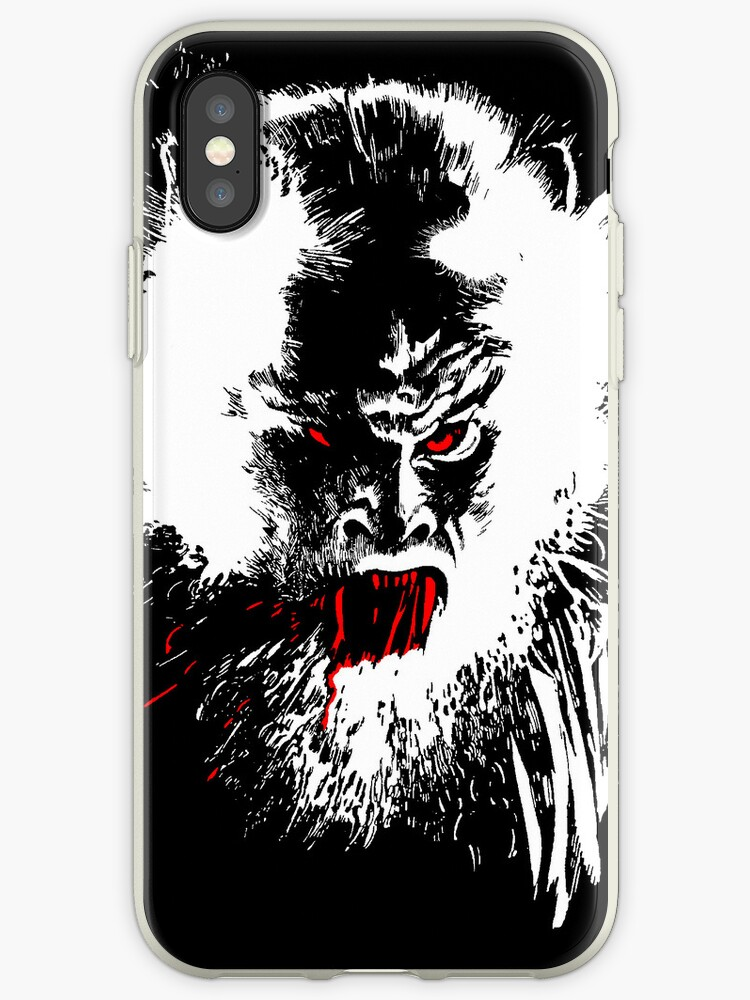 buy popular 20537 8bf67 'Werewolf - phone cases' iPhone Case by rootsofriot