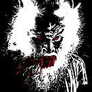 Werewolf - prints, cards & posters by rootsofriot