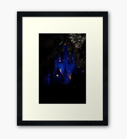A Glowing Wish Framed Print