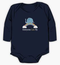 Everyone Can Fly Long Sleeve Baby One-Piece