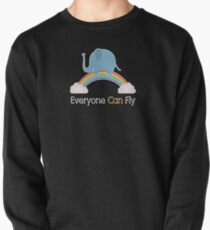Everyone Can Fly Pullover Sweatshirt