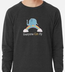 Everyone Can Fly Lightweight Sweatshirt