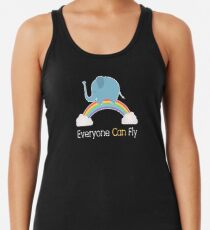 Everyone Can Fly Racerback Tank Top