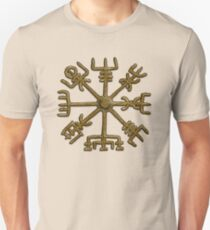 Vegvisir - Icelandic Magical Stave - Protection & Navigation  Unisex T-Shirt