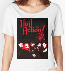 Hail Action Band Photo Women's Relaxed Fit T-Shirt