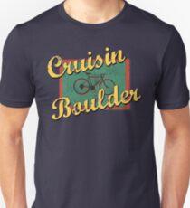 Bike Cycling Bicycle Cruising Boulder Colorado Unisex T-Shirt