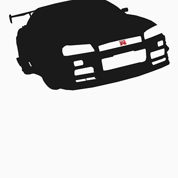Nissan GTR R34 - Silhouette by moovert