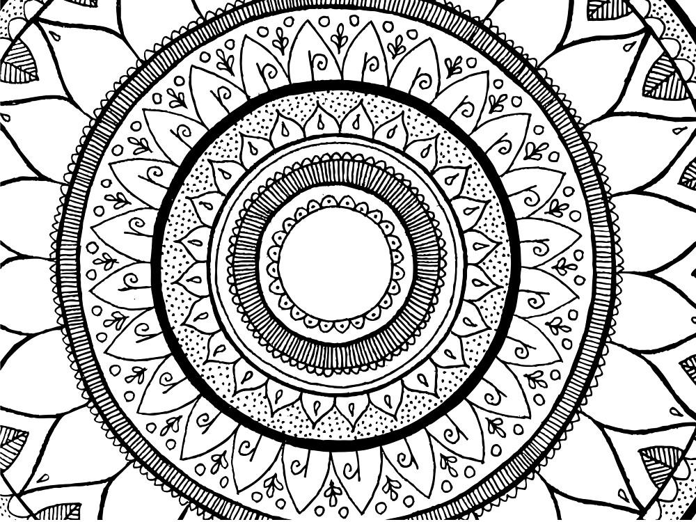 Simplicity Mandala by Kiarnay