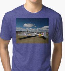 Three Chipmunks @ Caboolture Fly-In, Queensland 2011 Tri-blend T-Shirt