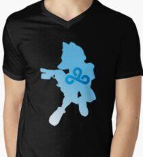 Fox McCloud Laser  Men's V-Neck T-Shirt