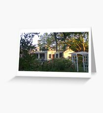 1790 House Greeting Card